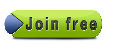 join free no registration fee, join today and become a member. Application icon, button or sign. photo