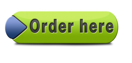 order here button on online internet webshop. Shopping icon or sign or webshop label. 版權商用圖片