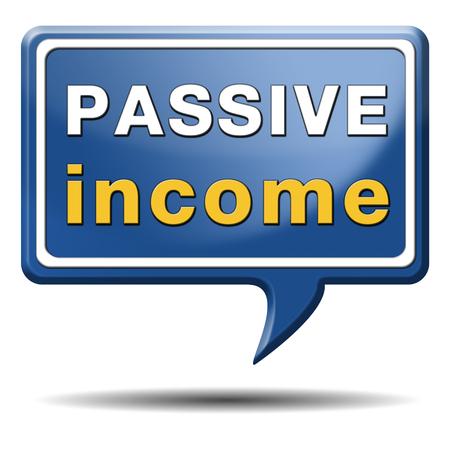 Passives Einkommen zu verdienen Geld online zu verdienen mehr Arbeit weniger Restwiederkehrendes Einkommen Standard-Bild - 24739566