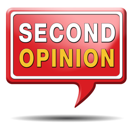 heathcare: second opinion ask other doctor medical diagnosis Stock Photo