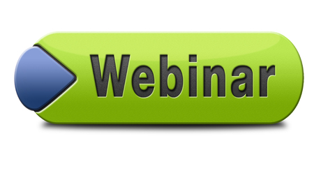 webinar online internet web conference meeting or workshop live video chat Stock Photo - 24739764