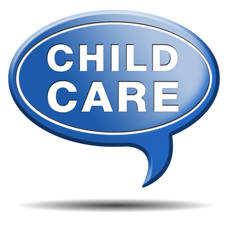 child protection: child care in daycare or crèche by nanny or au pair parenting or babysitting protection against child abuse