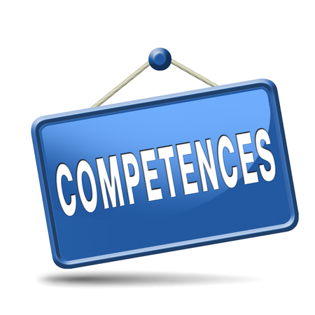 perito: competencias competencia o habilidad de trabajo pueden hacer que usted experto profesional Foto de archivo