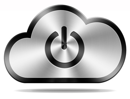 private cloud: login cloud computing icon or button for private hybrid or community cloud
