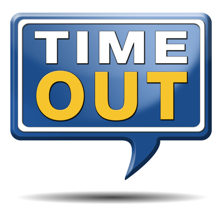 breakout: time out take a break leasure time off relaxation taking a holliday