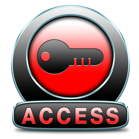 restrictions: unlimited access all areas no restrictions VIP membership Stock Photo