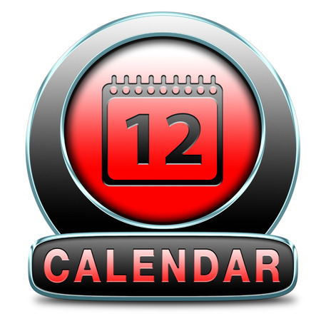 calendar time schedule event programation week or month planning next or following day schedule concept for appointment or event in agenda photo