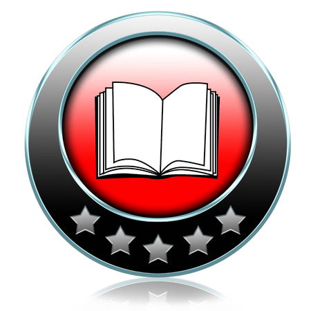 Ebook or pdf download and read online electronic book button or icon photo
