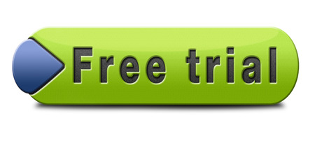 free offer: free trial promotion product test sample. Sign icon or label for advertising new items.