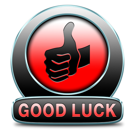 good luck or fortune, best wishes wish you the best of luck Stock Photo - 25319064