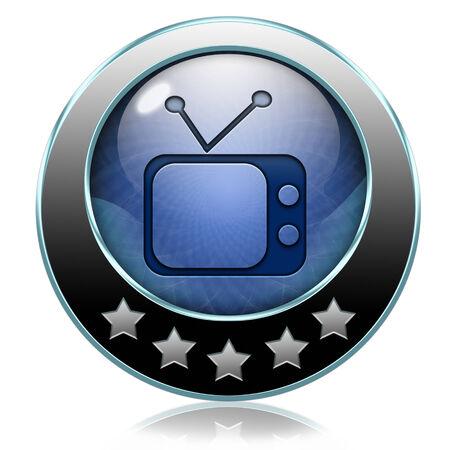live stream tv: TV live on air television live stream broadcast Stock Photo