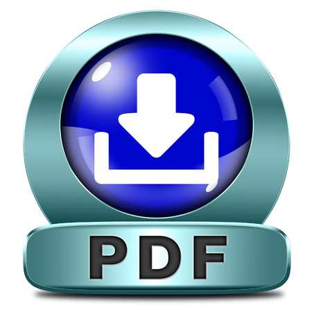 pdf file or document download button or icon Stock Photo - 25598229