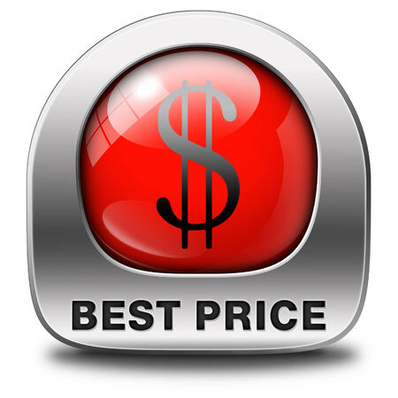 bargain: best price button low price or bargain special offer web shop icon