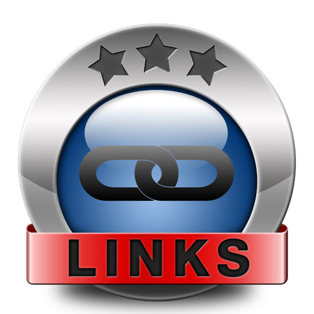 linking: links online internet web page link linking websites and webpages icon or button