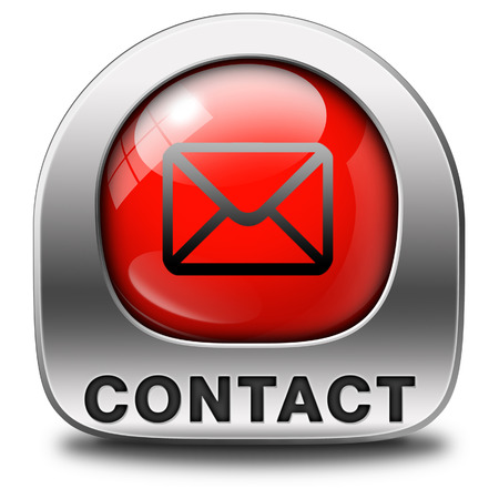 coordinates: contact address icon or button. Write or mail address email or postbus coordinates