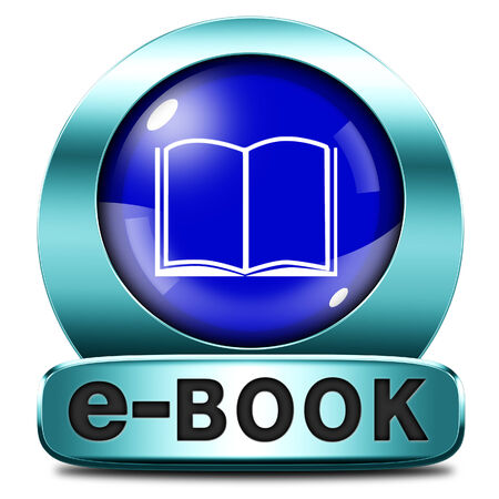 Ebook download and read online electronic book or e-book button or icon photo