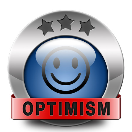 optimism icon positive thinking a positivity attitude leads to a happy life and mental health  photo