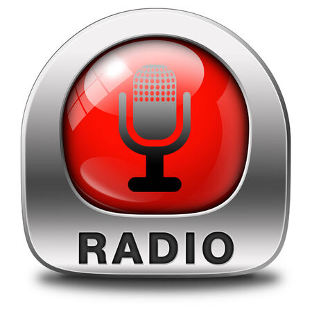 live stream radio: radio live stream on air Listen  music song audio or radio button or icon