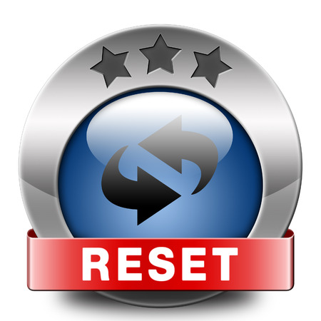 rebuild: Reset icon start again or refresh button refresh or redo sign