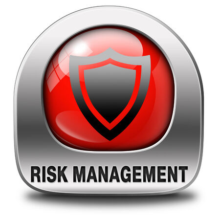 Risk management or assessment icon safety first photo