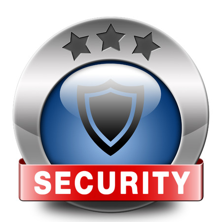 online privacy: security icon firewall data safety and protection online internet privacy