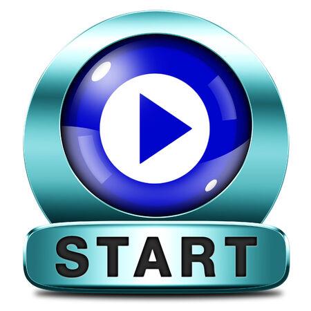 comenzar: iniciar o comenzar la pel�cula juego o nuevo comienzo v�deo