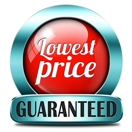 lowest price special offer bargain and sales discount icon label sticker or sign photo