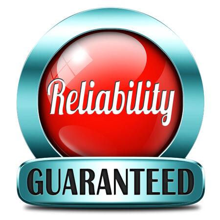 producto de alta calidad fiable etiqueta fiabilidad o servicio al cliente la responsabilidad y la responsabilidad de satisfacción