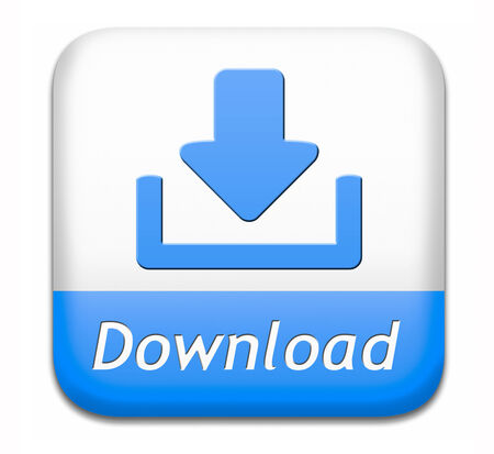download button for music, video movie or data downloading pdf document file or ebook icon photo