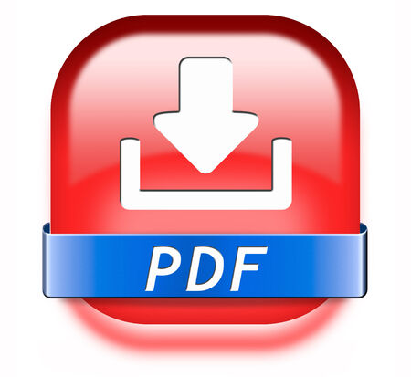 pdf file download or document downloading button or icon Stock Photo - 26249478