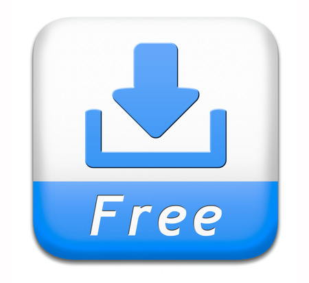 free download  button music, video movie or data downloading pdf document file icon photo