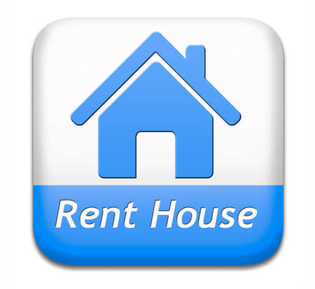 room to let: house for rent sign, renting a flat, room apartment or other real estate sign. Home to let icon.
