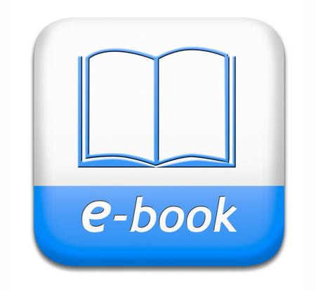 전자 책 다운로드 및 온라인 전자 책이나 전자 책 다운로드 버튼 또는 아이콘을 읽어