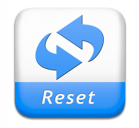 again: Reset button start again or refresh icon refresh or redo sign
