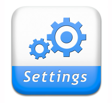 default: settings button cogwheel gear mechanism change or reset sign default setting icon