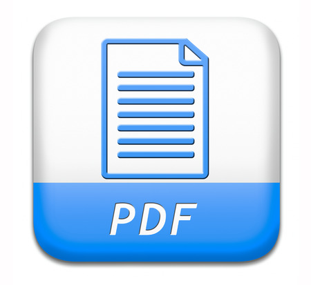 pdf file download or document downloading button or icon photo