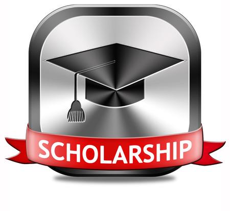 beurs of subsidie voor de universiteit of hbo-opleiding studie subsidieaanvraag voor school fondsen Stockfoto