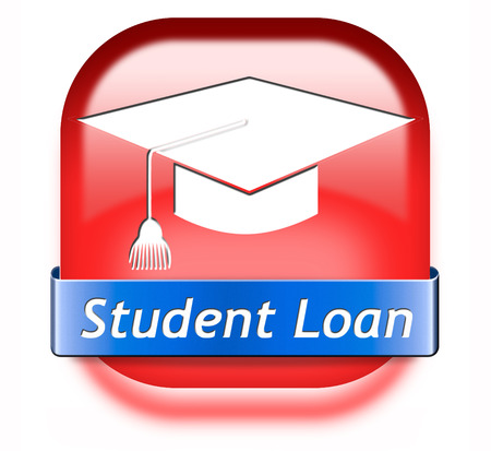 Student loan for university or college education grant or scholarship photo