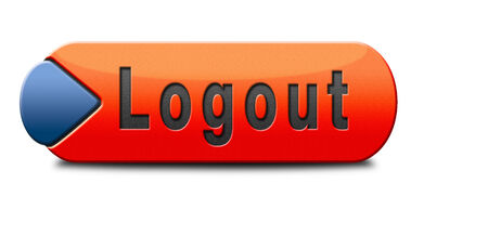 logout button or user or member logout banner photo