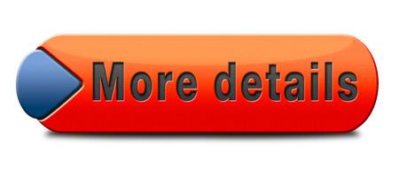 meer details en vinden info pictogram, knop of informatie te ondertekenen. Online onderwijs of hulp of support desk. Zoek leren en vind kennis online. Stockfoto