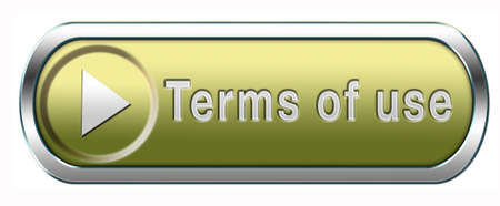 Terms of use or user terms button or icon photo