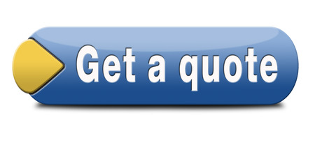 citation: get a quote button or icon Stock Photo