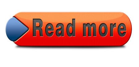 Read more button or icon photo