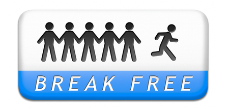 prison break: break free from prison pressure or quit job running away towards stress free world