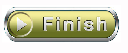 finish the end of the competition an exit out of problems button or icon photo