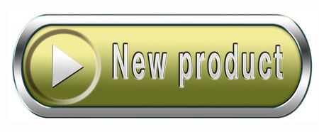 arriving: new product coming soon announcement arriving and available soon advertising news Stock Photo