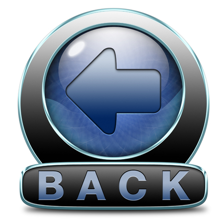 back previous or return button or icon photo