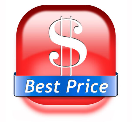 bargain: best price label or icon best seller low cost bargain sales offer discount