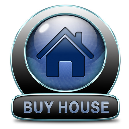 buying a house, flat, apartment or buy other real estate sign. Home or room sell icon. , photo