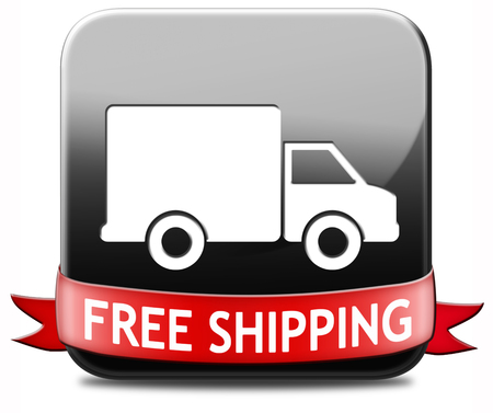 webshop: free shipping package delivery order web shop shipment for online shopping at internet webshop ecommerce button